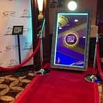 Magic mirror corporate event