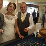 roulette hire for wedding, wedding casino hire