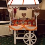 orange sweet cart hire
