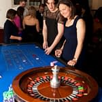 pretty ladies on roulette table