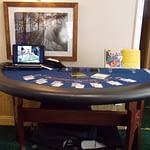 blackjack table wedding ready